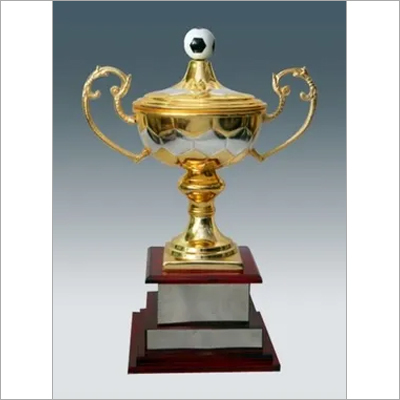 Metal Football Trophy