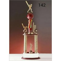 Acrylic Cricket Trophy