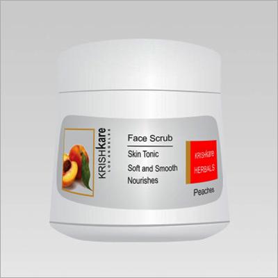 Herbal Face Scrub Peaches 200g