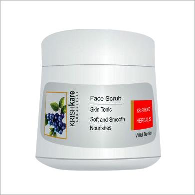 Herbal Face Scrub Wild Berries