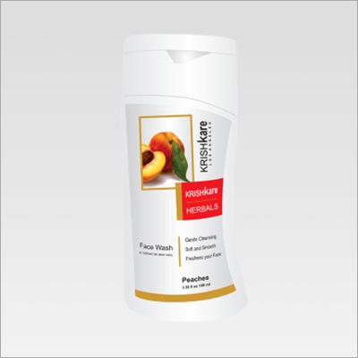 Herbal Face Wash Peaches 100ml