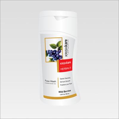 Herbal Face Wash Wild Berries 100ml