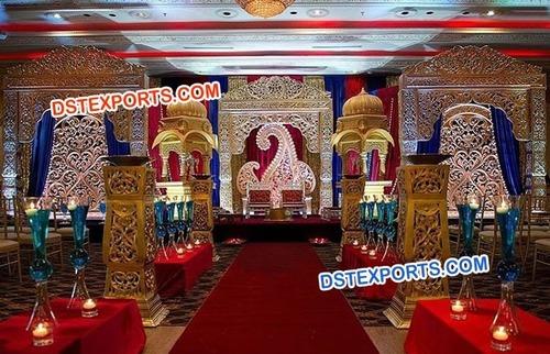 Raj Mahal Heavy Carved Mandap