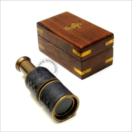 Nautical Brass Pullout Telescope