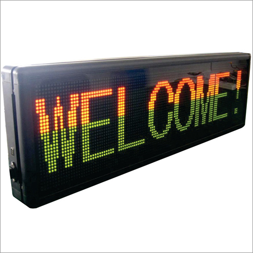 Led Moving Display Signages (Indoor)