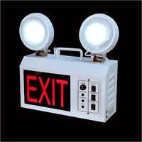 Exit Emgerncy Double Beam Light