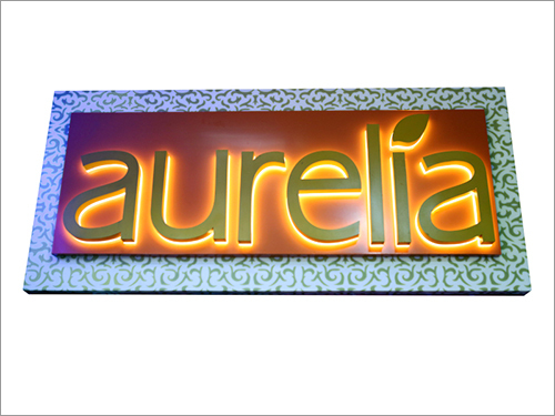LED Backlit Letters