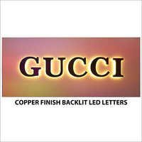 Gucci Led Backlit Letters