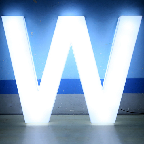 Raised Led Acrylic Letters
