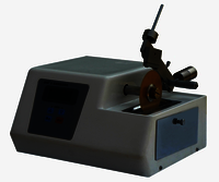 Low Speed Precise Specimen Cutting Machine