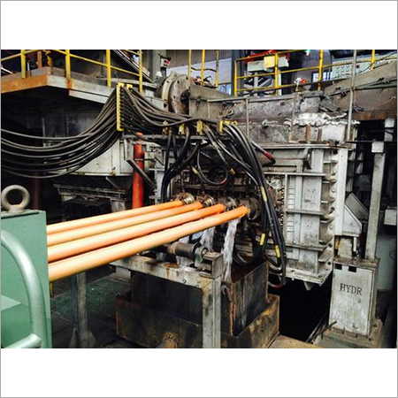 Horizontal Casting Machine For Copper Rod