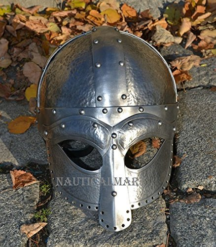 Viking Ocular Helmet Hand Made For Re-enactment Fights