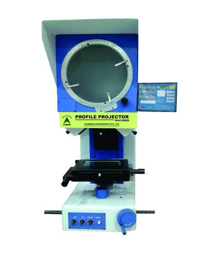 Profile Projector With Digital Data Processor