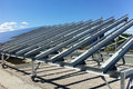 Solar Panel Structure Erection Work