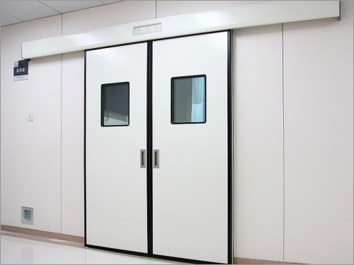 Double Doors In Clean Room