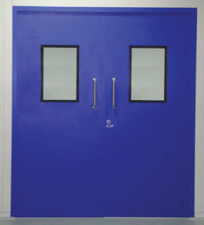 Emergency Doors For Clean Rooms