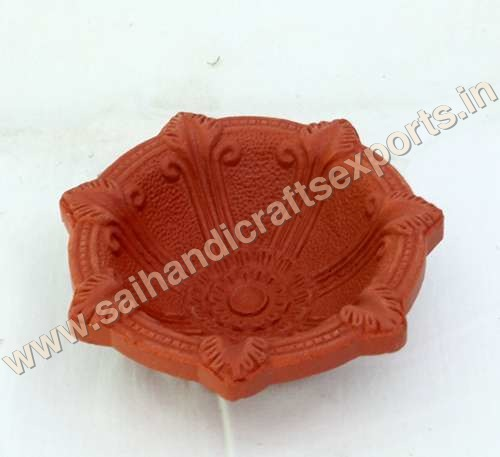 Clay Star Diya
