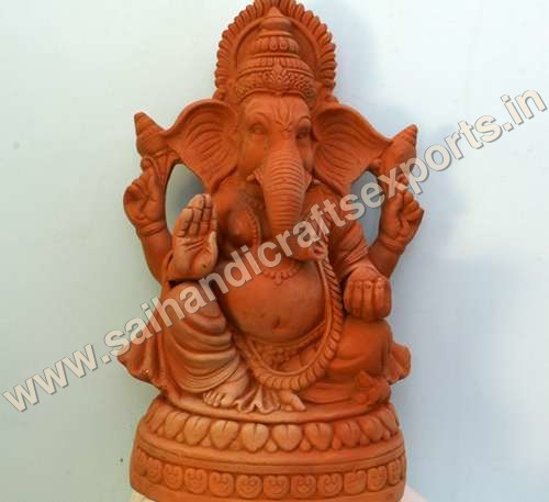 Terracotta Ganesh