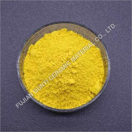 Inclusion Yellow Ceramic Pigment