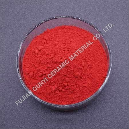 Inclusion Red Ceramic Pigment