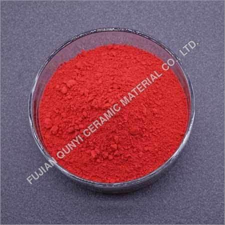 Inclusion Red Ceramic Pigment