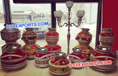 Punjabi Wedding Table Decoration Jaggos
