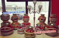 Punjabi Wedding Table Decoration Jaggos