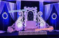Wedding Stage Paisley Props Panel