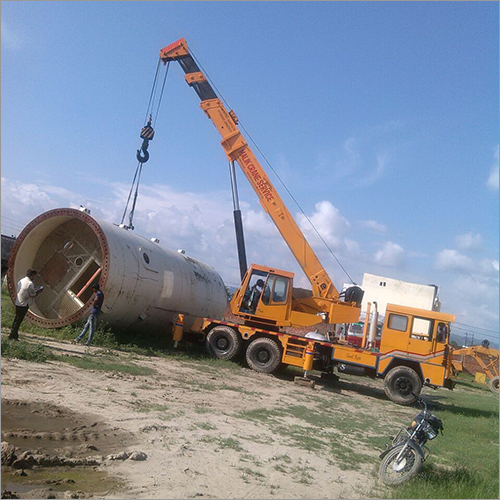 Truck Mounted Construction Cranes Rental Services