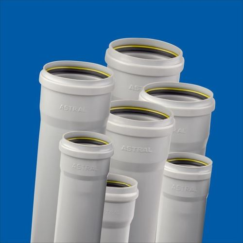 Grey PVC Pipes
