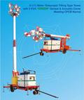 9 (11) Meter Mobile Telescopic Tilting Type Tower
