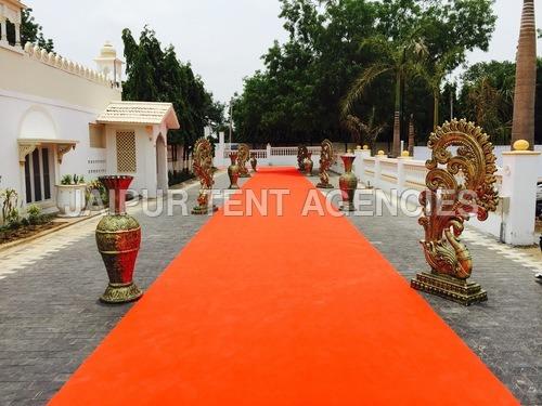Wedding walk way