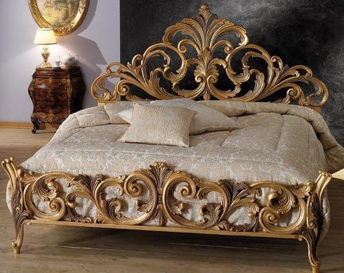 Luxury Handicraft Bed