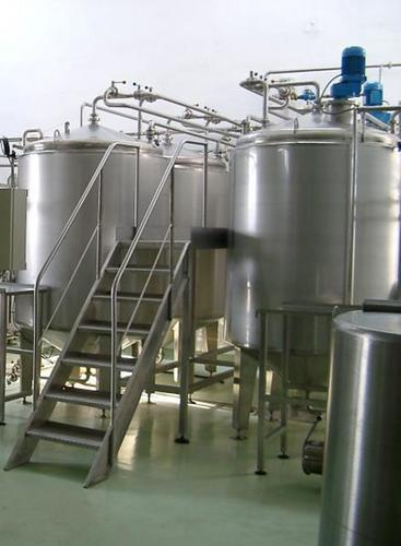 Pharmaceutical Mixing Tanks