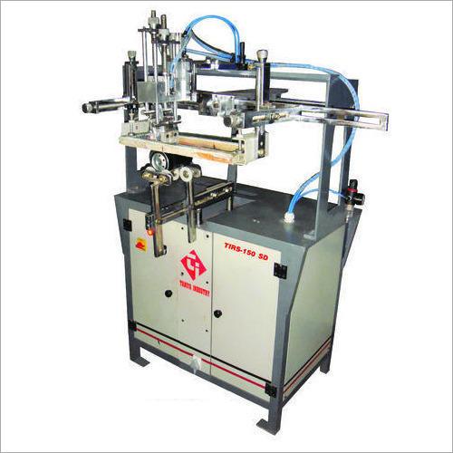 Semi Auto Round Screen Printing Machines