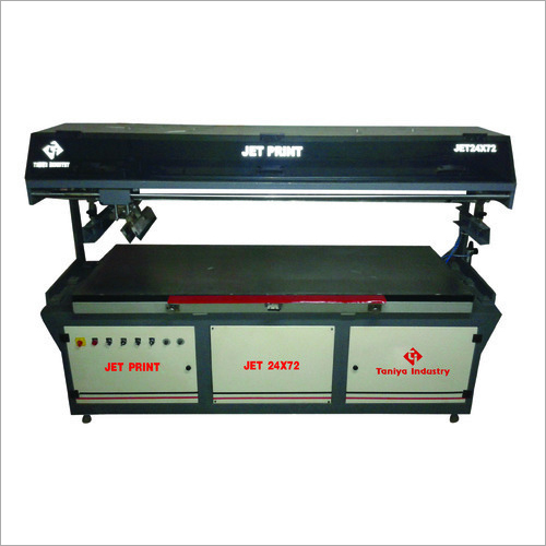 Combo Jet Flat Screen Printing Machine