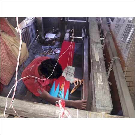 Manufacturing Process For Linen Sarees