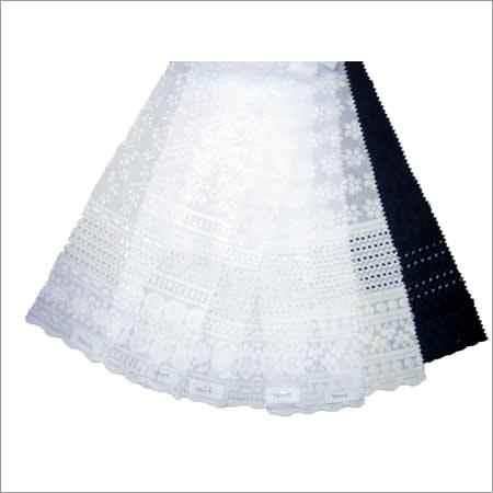 Chikan Border Fabrics