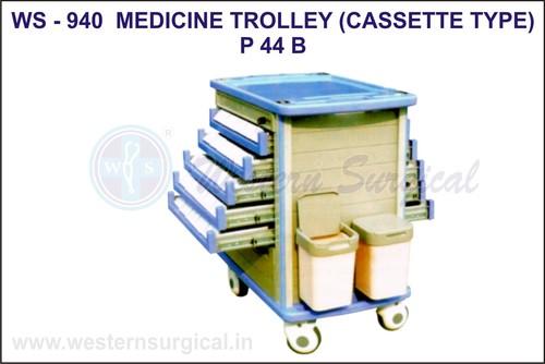Medicine Trolley (Cassete Type)