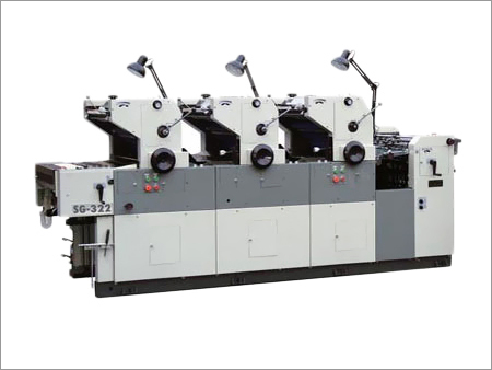 Three Color Non Woven Bag Printing Machine