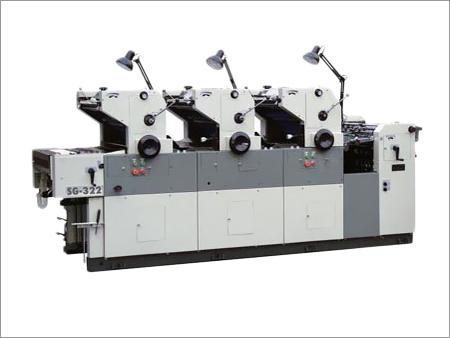 Three Color Non Woven Bag Printing Machine