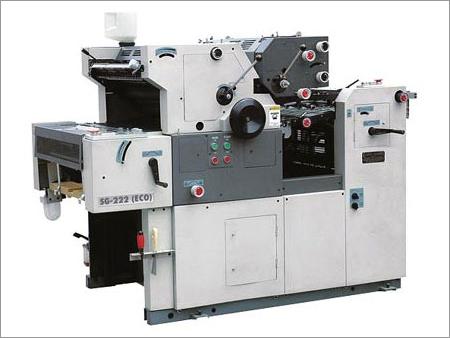 Two Color Satellite Model Non Woven Bag Printing Machine