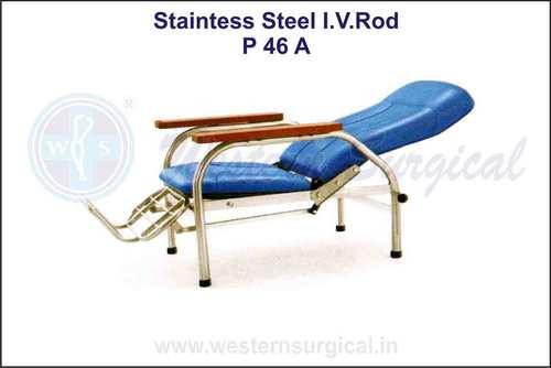 Stainless Steel I.V. Rod