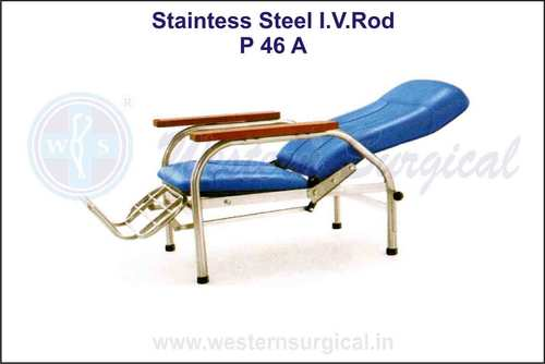 Stainless Steel I.V. Rod