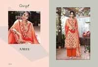 Buy New Cotton Satin Plazzo Suits Online