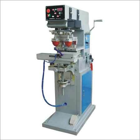 Automatic Pad Printing Double Color Machine