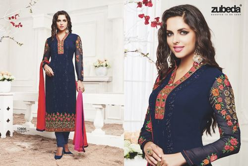 Straight Fit Salwar Suit