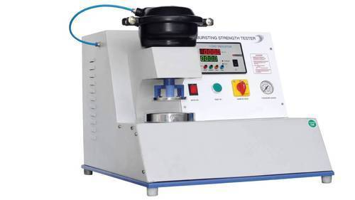 BURSTING STRENGTH TESTER (DIGITAL SINGLE HEAD PNEUMATIC)
