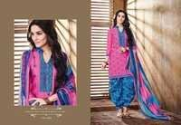 Embroidered Patiala Suit
