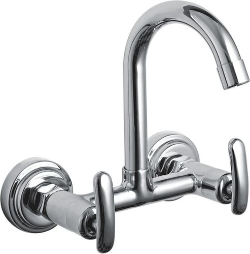Brass Wall Mounted Sink Mixer